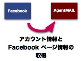アカウント情報とFacebookページ情報の取得