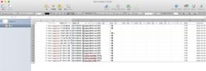 フォーム登録履歴CSVファイルを開いて、必要な箇所を選択してコピーする。