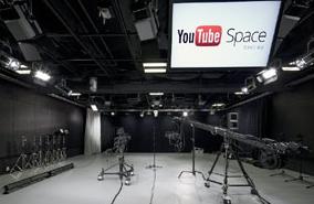 六本木ヒルズ内のYou-tubeの無料スタジオ
