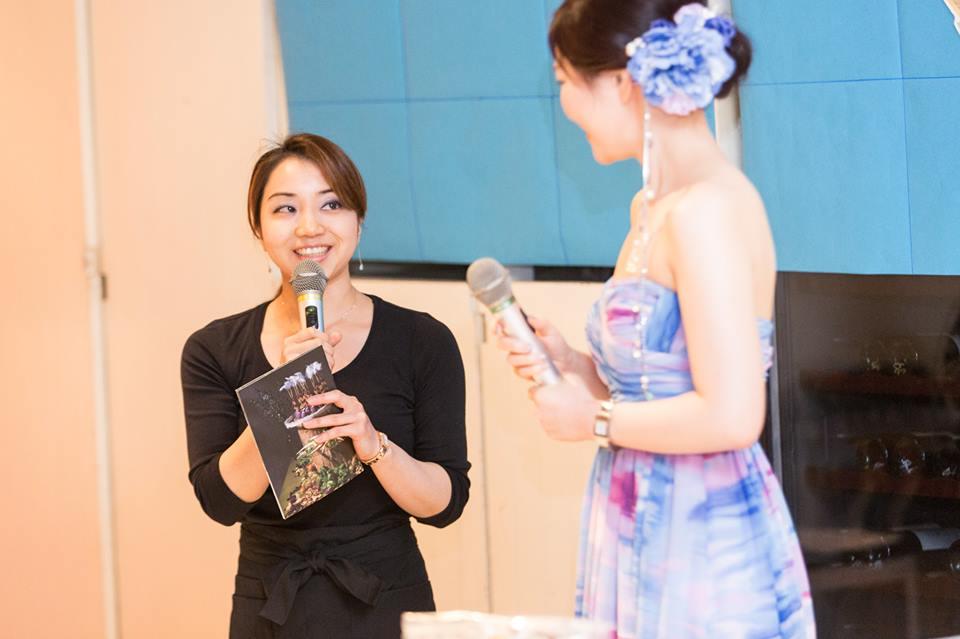 ハミングバードテーブル田中淳子さん
