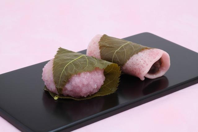 道明寺、桜餅.jpg
