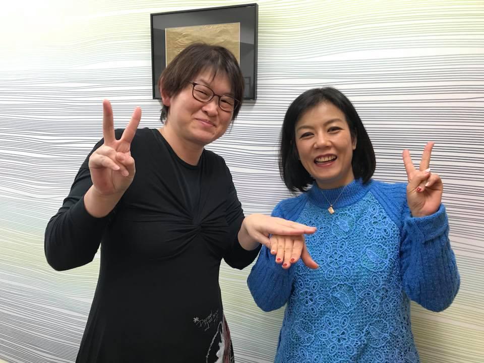 集まる集客プロデューサー長瀬葉弓さんもお子さんが受験
