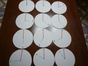 シンプル時計1