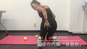 テニスボールでお尻筋膜リリース説明.PNG