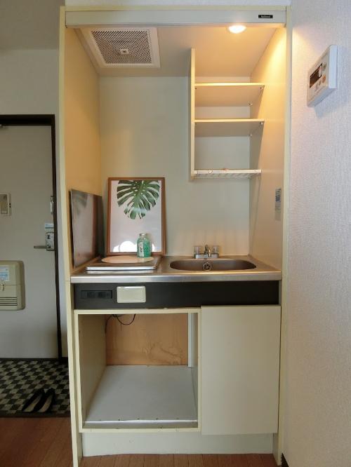 キッチン ステージング 空室対策