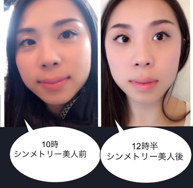 シンメトリー美人 タラネンコ聡子ビフォーアフター