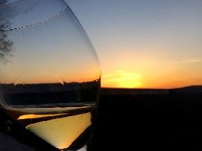 ダンボネの夕陽 斜めバージョン