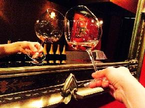 鏡に乾杯 KRUG ロゼ
