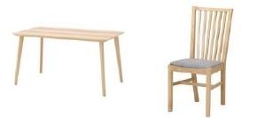 レンタル家具 ダイニングテーブルセット.jpg
